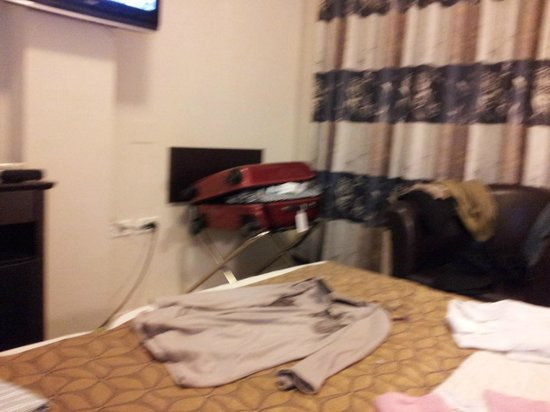 Restal Hotel: habitación doble.