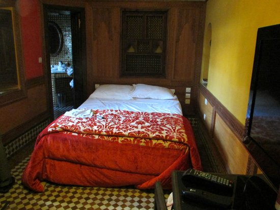 Riad La Maison Verte: Small but comfortable