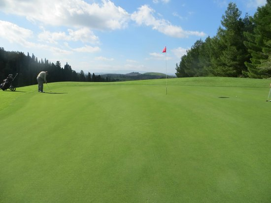 Golf Club Castelfalfi: buca 7