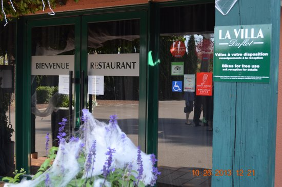Restaurant Villa Duflot : Une villa magnifique à Perpignan