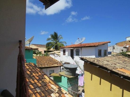 Praia Do Forte Hostel: vista da janela do apto