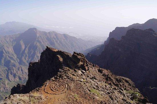 Roque de Los Muchachos: Vue depuis le Roque