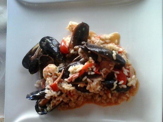 Ristorante Papeete : risotto alla pescatora
