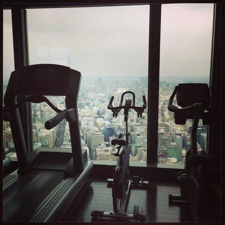 Mandarin Oriental, Tokyo: Gym