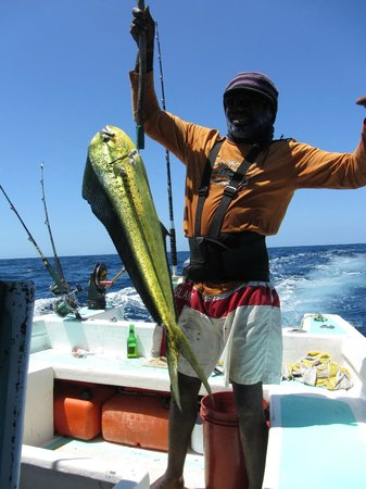 Pops Tours Tobago: Come and enjoy fishing with us!