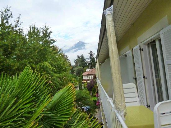 Hotel Zima: View from the balcony.