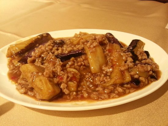 Tim's Kitchen : Eggplant with mice and salted fish
