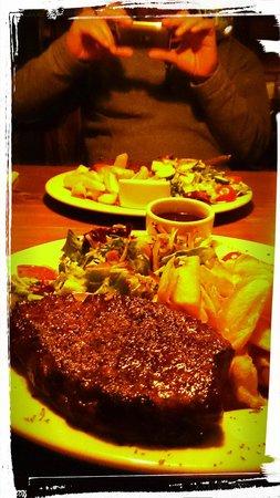 Sioux: Mmm well done steak!!