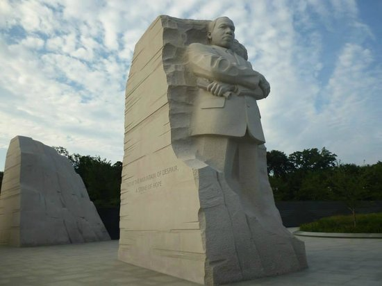 Martin Luther King, Jr. Memorial: Imponente
