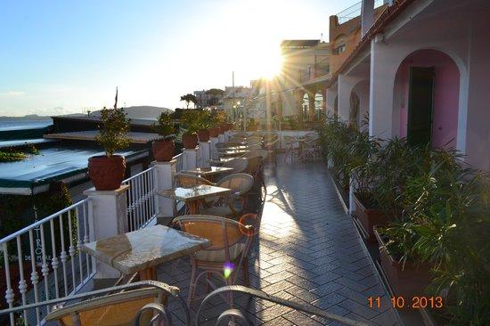 Hotel Solemar Terme Beach & Beauty: Вид на набережную