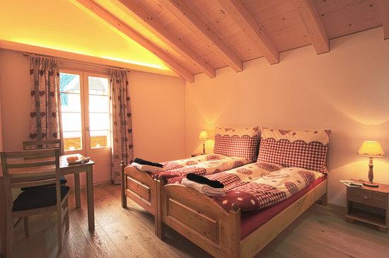 Pension Panorama B&B: Doppelzimmer Spitzhorn