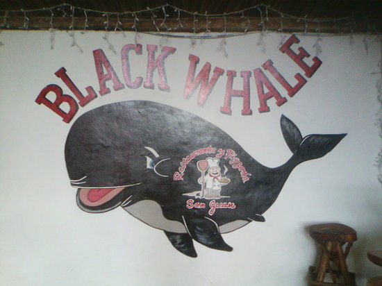 Black Whale Bar & Grill: Black Whale Logo
