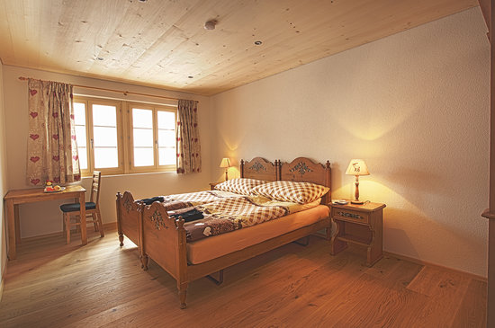 Pension Panorama B&B : Doppelzimmer Rothorn