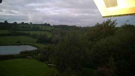 Cameley Lodge Hotel: Lake view