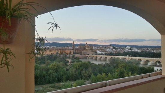 Hesperia Córdoba: dalla terrazza del bar dell'albergo1