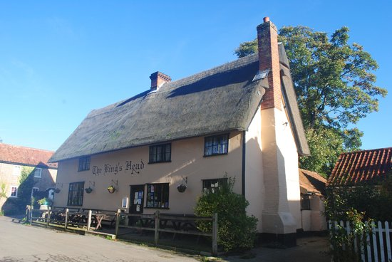 Laxfield King's Head (The Low House): outside of the Kings Head