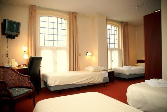 Hotel Het Wapen van Leiden: 4-pers. Room