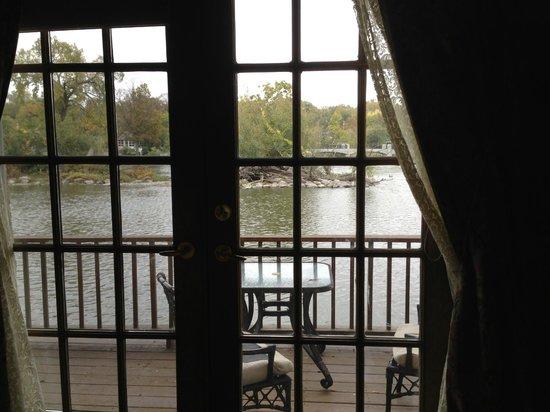 The Herrington Inn & Spa: The balcony view