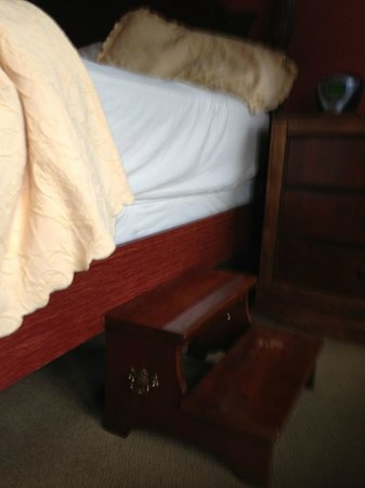 The Herrington Inn & Spa: That bed is high