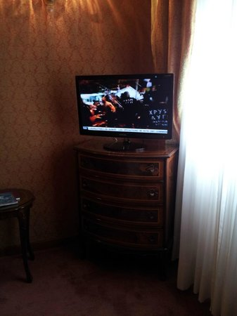 Hotel Locanda Vivaldi: Led Tv.