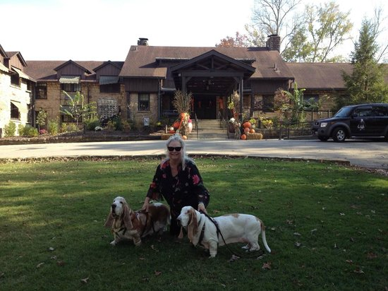 Cumberland Falls State Resort - Dupont Lodge : Dupont Lodge is extremely dog friendly as are all the KY State Resort/Lodge Parks