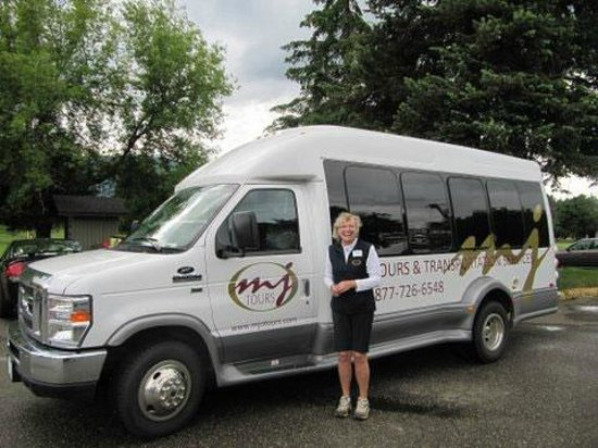 Vernon, Canada: 2012 Executive Coach - a favourite with stagettes