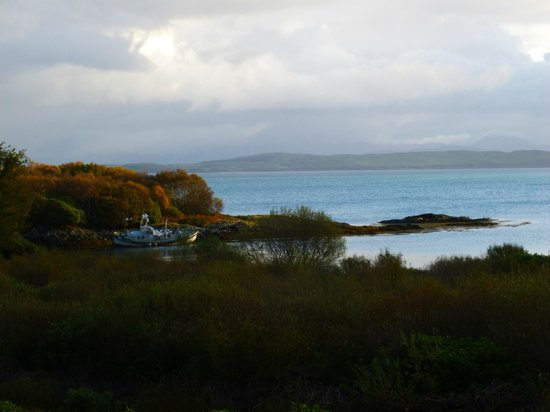 Isle of Mull Hotel & Spa : view from room