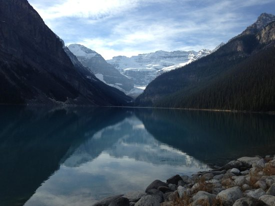 Fairmont Chateau Lake Louise: Truly amazing views