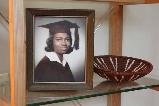 Ivy Mansion at Dupont Circle: The proprietor's mother:  Joyice Ann Powell Jones