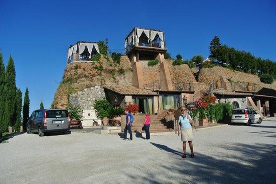 Relais Castrum Boccea : Mit dem Shuttlebus gehts nach Rom