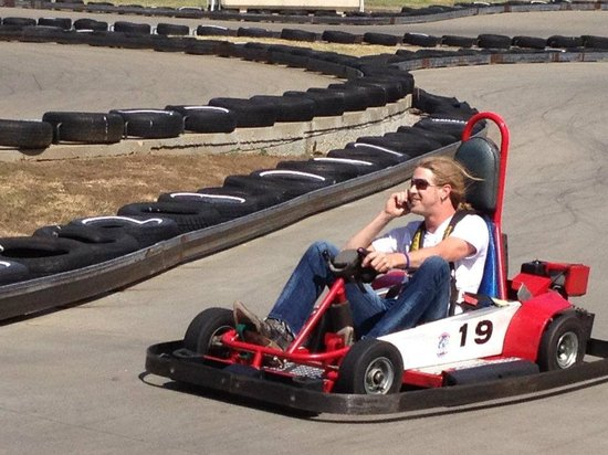 Grand Old Golf, Games & GoKarts: Multi-tasking