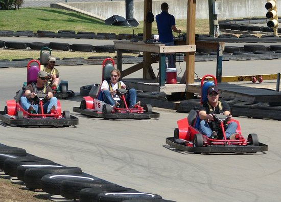 Grand Old Golf, Games & GoKarts: Area's fastest karts