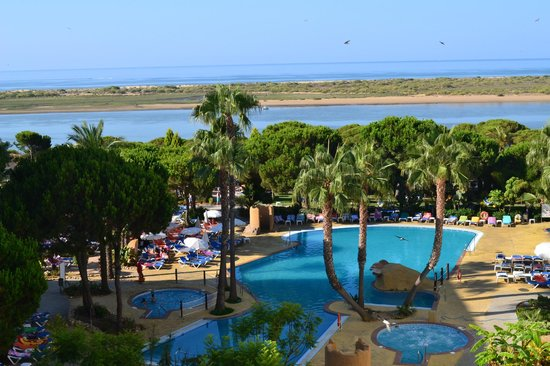 Playacartaya Spa Hotel : Vista desde la terraza de la habitación