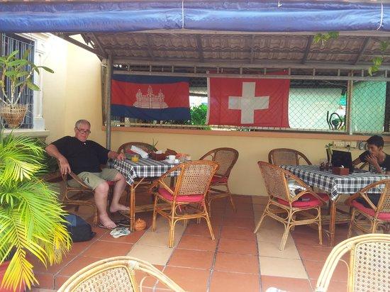 Guesthouse Swissgarden: fais chaud