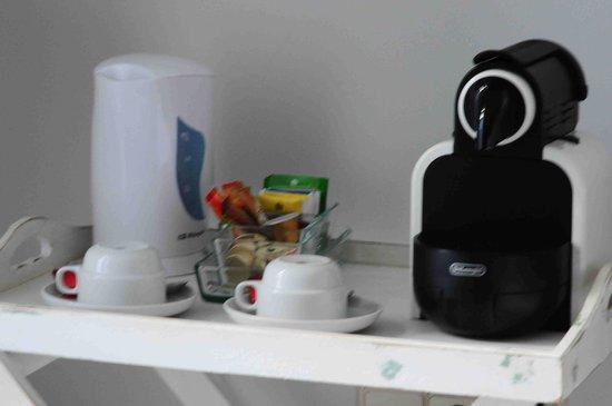 Casa Luna Verde: Nespresso dans la chambre
