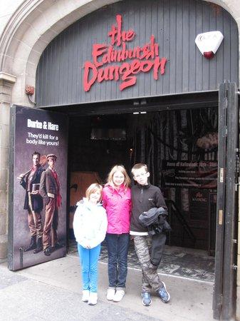 The Edinburgh Dungeon : Dungeons