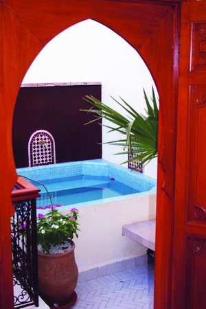 Riad Al Ralia: vue par la chambre