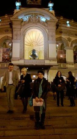 National Opera House of Ukraine: Перед началом представления в Оперном Театре