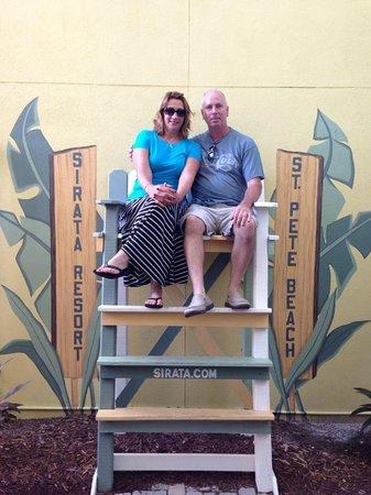 Sirata Beach Resort: Jeann & Jay
