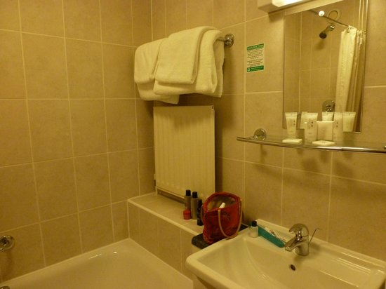 Regent Hotel : Clean with a great shower