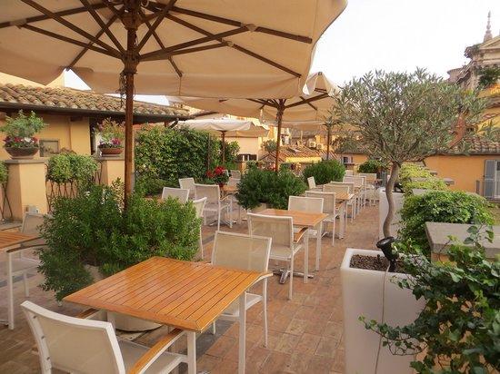Albergo Cesari: Roof top terrace