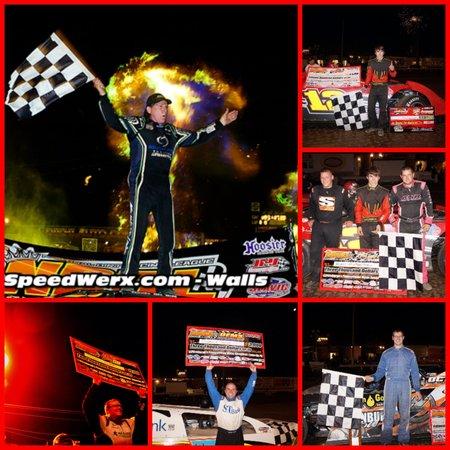 2013 NDRL Pittsbueger 100 winner, Bloomer, Scott Bloomquist