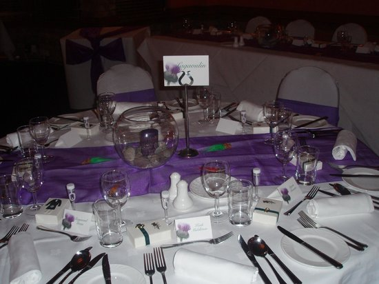 Craighaar Hotel: Shots of our reception venue