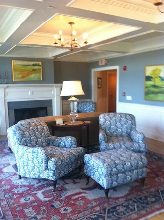 Inn at Stonington: living con vista al mar