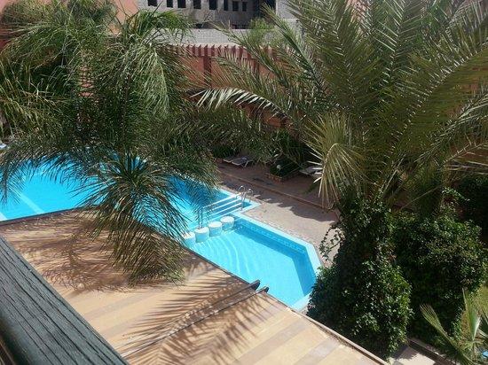 Diwane Hotel: Diwane piscine vue depuis chambre