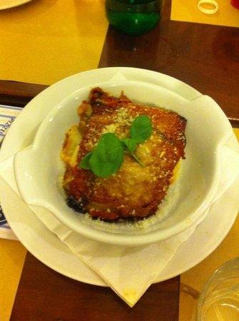 Re Brasserie : parmigiana per antipasto