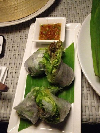 Catch Beach Club: Vietnamese Fresh Spring Rolls
