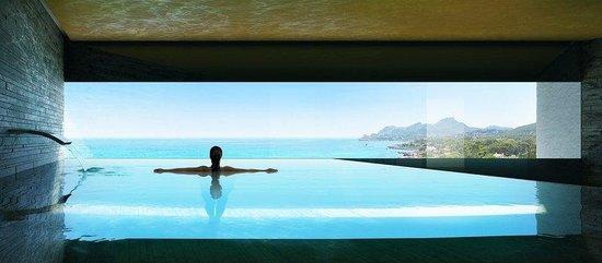 Son Moll Sentits Hotel & Spa: Hotel Son Moll pool beach