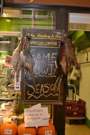 Oxford Covered Market : Pheasants