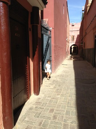 Riad D'ari : Outside the Riad